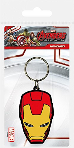 1art1® Los Vengadores - Iron Man Llavero (6 x 4cm): Amazon ...