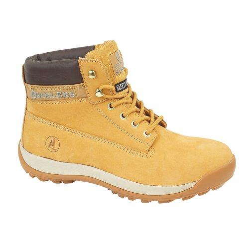 Chaussures montantes de sécurité Amblers Steel FS102 pour homme (42 EUR) (Miel)