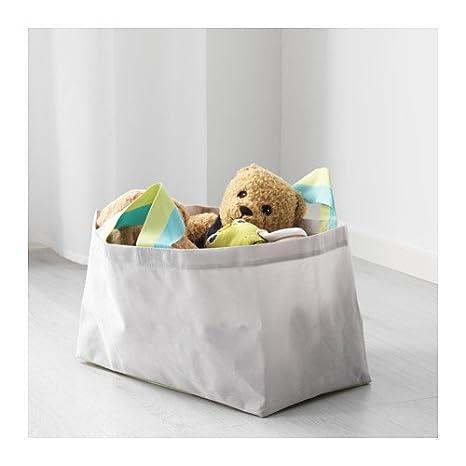 Bolsa, IKEA släkting, colour-grey/verde, tamaño 25 x 42 x 25 cm, práctico almacenamiento para todas las pequeñas cosas.: Amazon.es: Bricolaje y herramientas