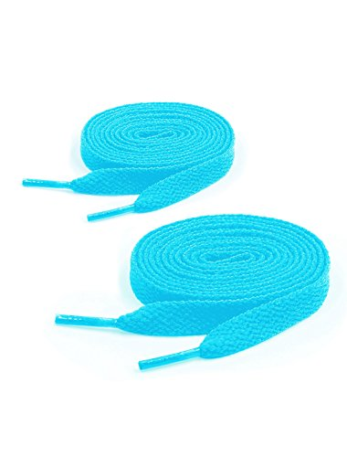 light blue laces - 9