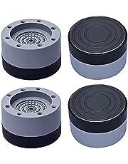 QiKun-Home Wasmachine Voeten Schokbestendig Ruisonderdrukking Anti-slip Verhogen Wasmachine Voeten Houder Koelkast Base grijs Toename 8.5 cm