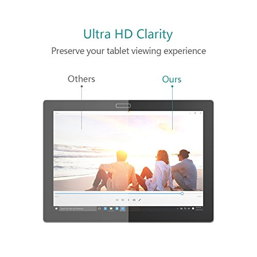 Lenovo MIIX 700 Screen Protector Glass - Premium 9H Hardness Tempered Glass Screen Protector for Lenovo Ideapad Miix700 12 inch Tablet/Laptop by SEENIGHT (Image #2)