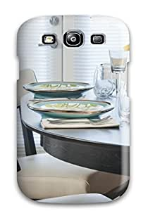 Kimberly M Taylor TAgojUI36UwgoW Case Cover Skin For Galaxy S3 (set Table In Dining Room)
