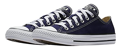 Converse Chuck Taylor All Star Seasonal Low Top Sneaker, Midnight Indigo, 8.5 B(M) US Women / 6.5 D(M) US - Shoes Blue Midnight