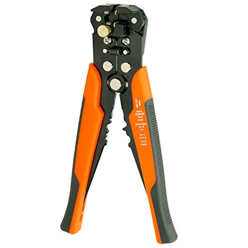 Square Ferrule Wire Cable End-sleeves Red Heschen Crimper Plier HSC8 6-4A Mini Self-adjustable Crimping Tools Use for 0.25-6.0 mm/² 23-10 AWG