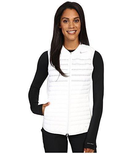 Nike Aeroloft Combo Golf Vest 2016 Womens White/Wolf Grey/Reflective Silv X-Large by NIKE (Image #1)
