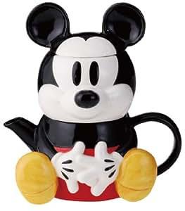 Mickey Mouse T-4 uno SAN1812 (juego de taza y tetera con colador) (jap?n importaci?n)