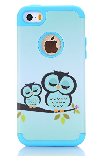 iPhone SE Case, iPhone 5S Case, iPhone 5 Case, XRPow Slim Fi