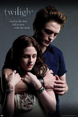 twilight posters of edward and bella