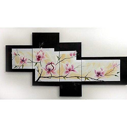 【Amazon.co.jp 限定】 東京アートラボ 和モダン オリエンタルアート 4枚組 W1100mm 絵画 日本 B01JAX9J2M
