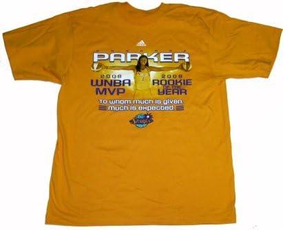 Candace Parker LA Sparks MVP ROY Commemorative T-shirt camisa ...