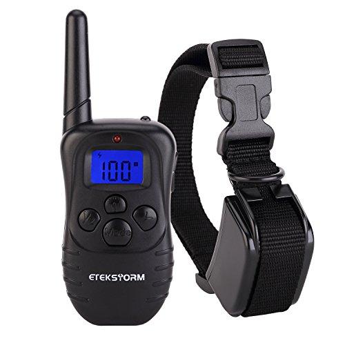 EtekCollar-Dog-Shock-Collar-330yds-Remote-Dog-Training-Collar-with-BeepVibrationShock-Electric-E-collar