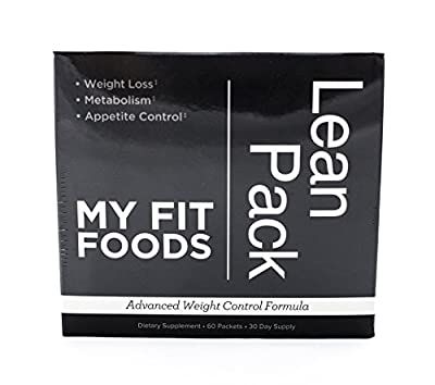 My Fit Foods Lean Pack Advanced Weight Control Formula 30 Day Supply