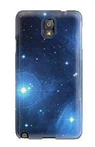 [HtzGoxf408fhTWh]premium Phone Case For Galaxy Note 3/ Attractive Pleiades Star Cluster Tpu Case Cover