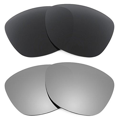 Verres Revant pour monture Oakley Frogskins Polarisés 2 Combo Pack de paires K001
