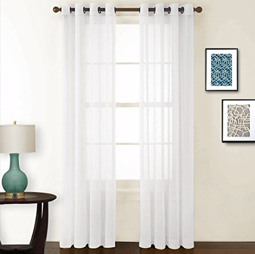 door panel curtains double rod - 7