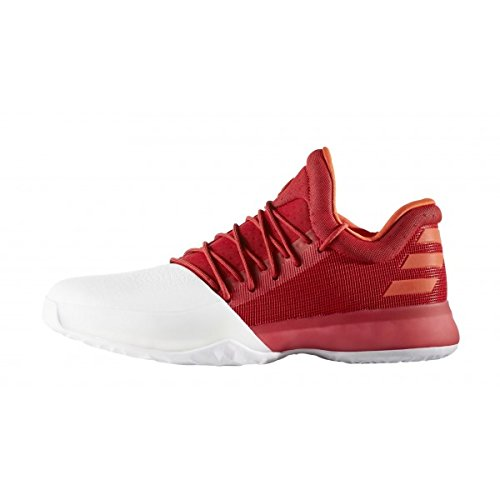 Adidas - Chaussure de Basketball adidas James Harden Vol.1 rouge et blanche Pointure - 39 1/3
