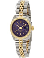 Charles-Hubert, Paris Womens 6566 Classic Collection Two-Tone Stainless Steel Watch