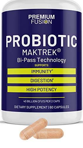 Probiotics for Women & Men – 40 Billion CFUs – High Potency Formula. Boost Your Immune System w/The Best Lactobacillus Probiotic Capsule for Immunity & Health