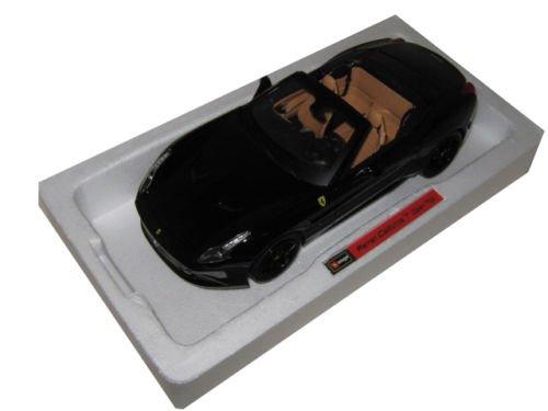 フェラーリカリフォルニアTオープントップコンバーチブルブラック署名シリーズ1 / 18 by Bburago 16904 B01LVX907A