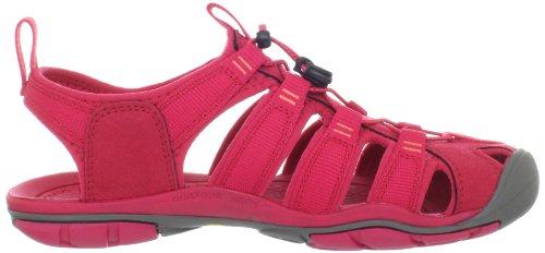 Coral Hot Trekking amp; CNX Wanderschuhe Clearwater Damen Sandalen Pink KEEN Barberry nAvFTz7W