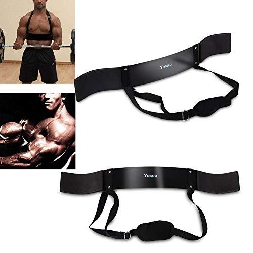 Fitness Arm Curl Blaster Voor Gewichtheffen Biceps Blaster en Biceps Curl Ondersteuning voor Bodybuilding Fire Team…