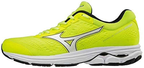 Mizuno Men's Wave Rider 22 Running Shoes Yellow (Safetyyellow/Black/Safetyyellow 10) Fl7KlR5nhN