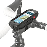 Wicked Chili RainCase iPhone 7 / 8 - Bike Phone Mount, Waterproof, Shockproof for Bicycle Stem and Handlebar, Full Body Protective with Touch ID (Shockproof, Rainproof IPX5, with charger port)