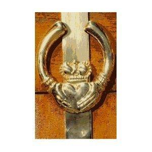 Mayer Mill Brass Claddagh Wreath Hanger by Mayer Mill Brass by Mayer Mill Brass