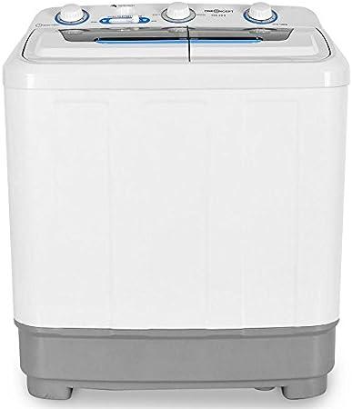 160 W Centrifugal Power Mini Washing Machine 380W Washing Power White Timer Camping Washing Machine oneConcept DB004 Comfort Spin 4.8kg Volume Spin Dryer Washing Machine for Singles