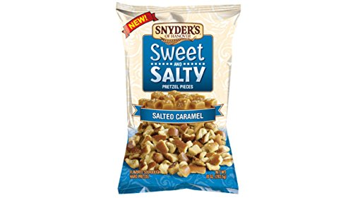 Snyder's Sweet and Salty Salted Caramel Pretzel Pieces, 10 Ounce (2 Bags) -