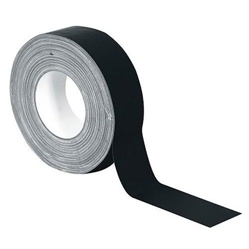 Stage Tape 30005465  Accessory Pro Matt Gaffa Tape 50  mm x 50  m Black Stagetape