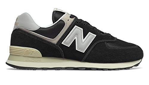 574v2 Uomo Sneaker New Balance bone Black POAwwq