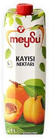 MEYSU アプリコットジュース1L - MEYSU Apricot Nectar 1L