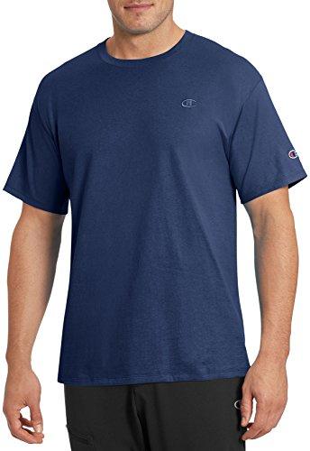 Champion Men's Classic Jersey T-Shirt, Navy, S