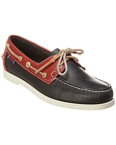 (Sebago Mens Spinnaker Navy/Red 11 M)