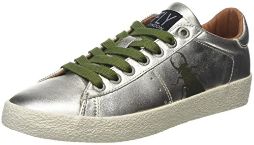 FLY London Berg823Fly Ladies Womens Trainers Ant.gold amazon for sale ZFo2He2f