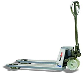 """Giant Move MB-N25L Stainless Steel Hand Pallet Truck, 5500 lbs Capacity, 48"""" Length x 27"""" Width Fork"""