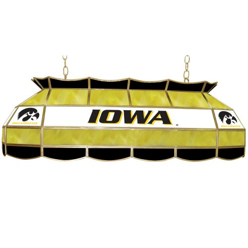 NCAA University of Iowa Tiffany Gameroom Lamp, 40'' by Trademark Gameroom