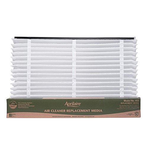 Aprilaire 413 Air Filter for Air Purifier Models 1410, 1610, 2410, 3410, 4400, 2400; Pack of 8 by Aprilaire