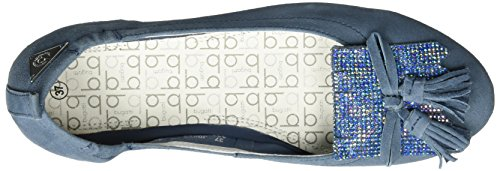 Bugatti J06783g, Bailarinas Mujer Azul (Jeans 455)