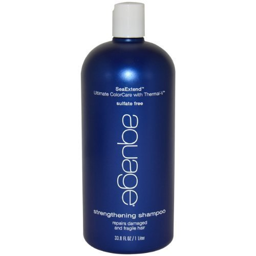 Aquage Seaextend Strengthening - Aquage Seaextend Ultimate Colorcare with Thermal-V Strengthening Shampoo, 33.8 Ounce