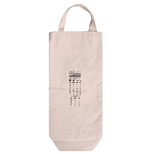 - Canvas Wine Bag Handles Tote Kitchen Conversions Kitchen Recipe Style In Print