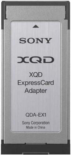 Amazon.com: Sony XQD adaptador de tarjeta de memoria (qdaex1 ...