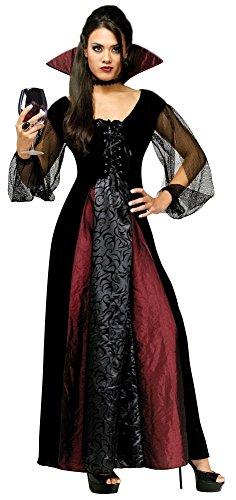 Goth Maiden Vampiress Costume - Small/Medium - Dress Size 2-8