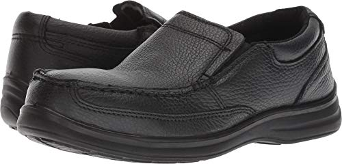 Florsheim Work Women's FS28 Wily Steel Toe ESD Slip-On,Black,US 8.5 D