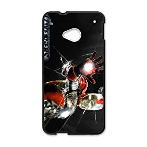 Iron Man HTC One M7 Cell Phone Case Black Y3417561