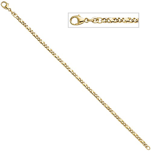 Jobo Bracelet en or bracelet or jaune 33318,5cm
