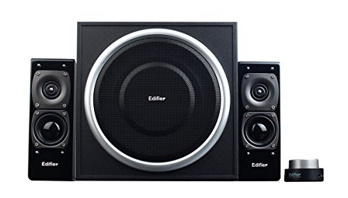 Edifier USA S330D 2.1 Speaker System (Black) by Edifier USA