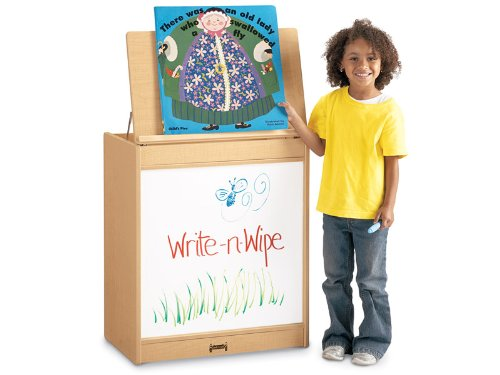 MapleWave 0543JC011 Big Book Easel, Write-N-Wipe